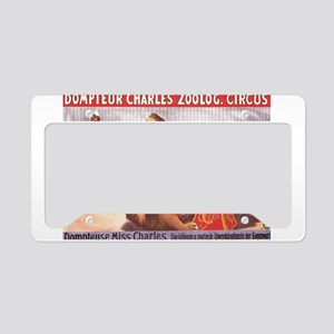 circus art License Plate Holder