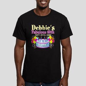 SUPER 60TH Men's Fitted T-Shirt (dark)