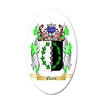 Nairn 20x12 Oval Wall Decal