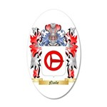 Naile 35x21 Oval Wall Decal