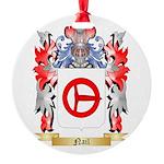 Nail Round Ornament