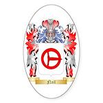 Nail Sticker (Oval 10 pk)