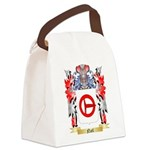 Nail Canvas Lunch Bag