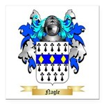 Nagle Square Car Magnet 3