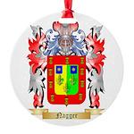 Nagger Round Ornament