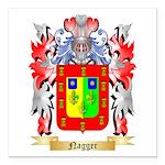 Nagger Square Car Magnet 3