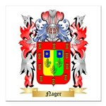 Nager Square Car Magnet 3