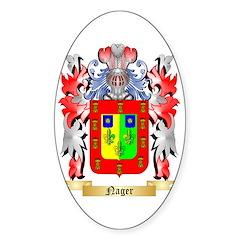Nager Sticker (Oval 10 pk)