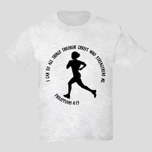 PHILIPPIANS 4:13 Kids Light T-Shirt