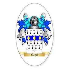 Nagel Sticker (Oval)