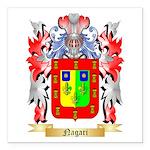 Nagari Square Car Magnet 3