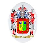 Nagari Oval Ornament