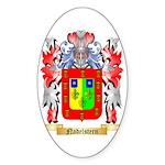 Nadelstern Sticker (Oval 50 pk)