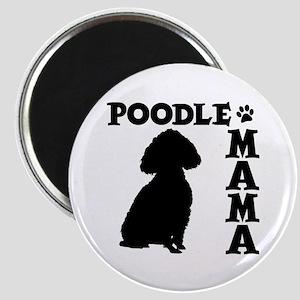 POODLE MAMA Magnet