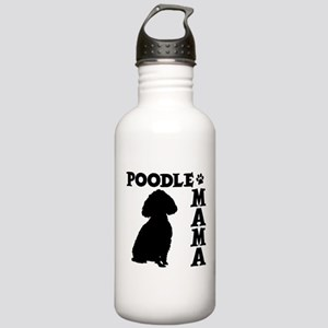 POODLE MAMA Stainless Water Bottle 1.0L