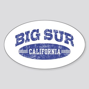 Big Sur California Sticker (Oval)