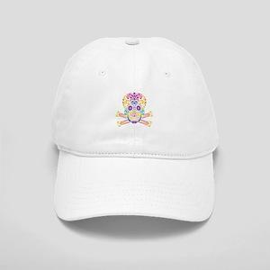 Decorative Candy Skull Cap