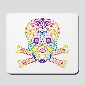 Decorative Candy Skull Mousepad