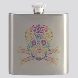 Decorative Candy Skull Flask