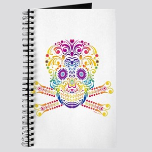 Decorative Candy Skull Journal