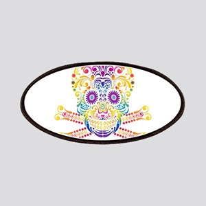 Decorative Candy Skull Patch