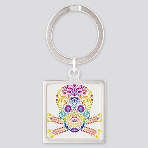 Decorative Candy Skull Keychains