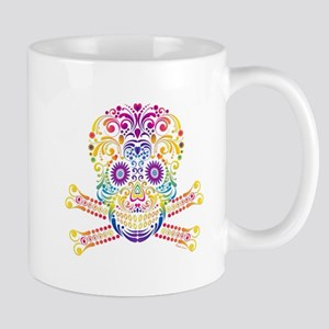 Decorative Candy Skull Mugs