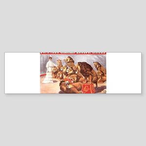 circus art Bumper Sticker