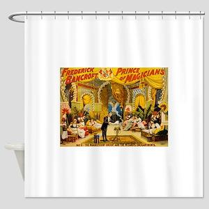 circus art Shower Curtain