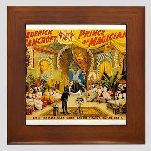circus art Framed Tile