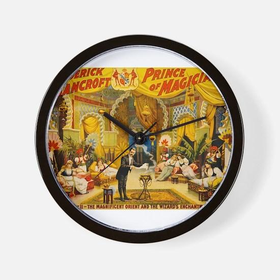 circus art Wall Clock