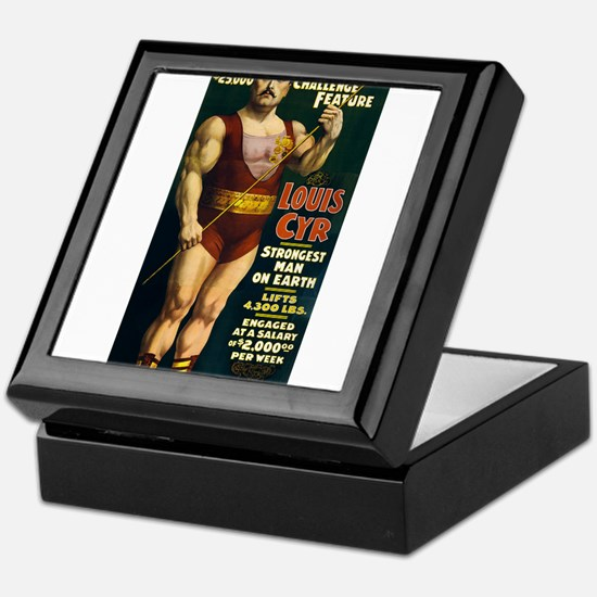 circus art Keepsake Box