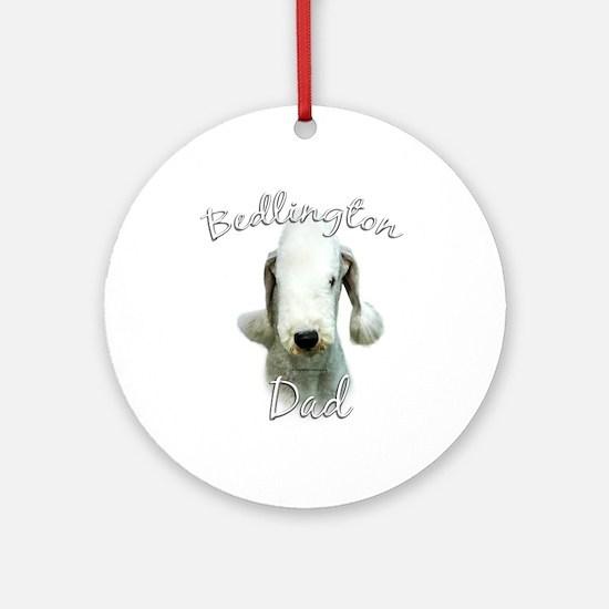 Bedlington Dad2 Ornament (Round)