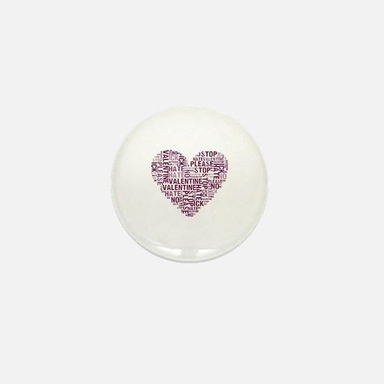 Funny Antivalentine Mini Button