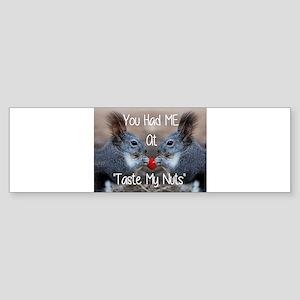 love adult humor Bumper Sticker