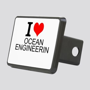 I Love Ocean Engineering Hitch Cover