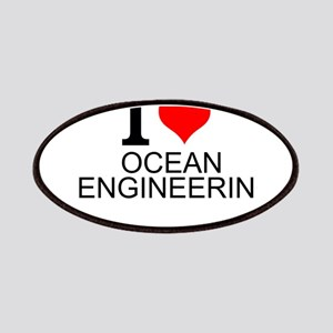 I Love Ocean Engineering Patch