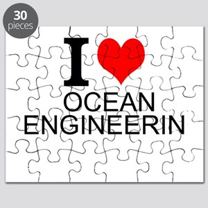I Love Ocean Engineering Puzzle