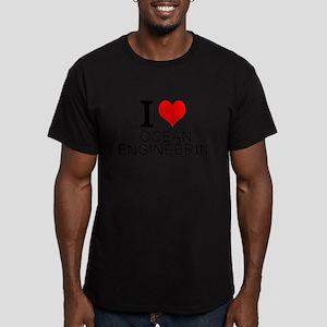I Love Ocean Engineering T-Shirt
