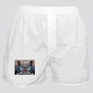 love adult humor Boxer Shorts