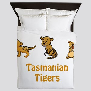 Tasmanian Tiger Cuties Queen Duvet