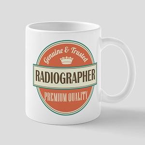 radiographer vintage logo Mug