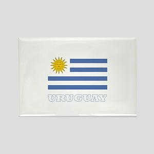 Uruguay Rectangle Magnet