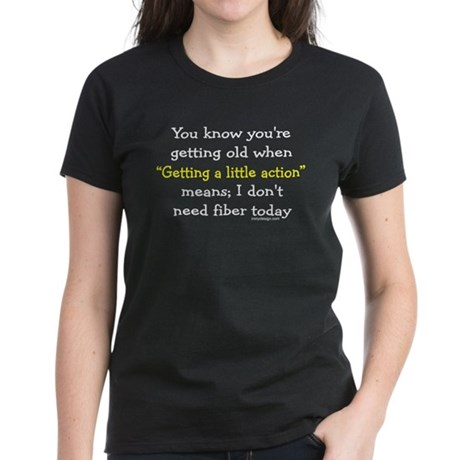 Getting Old Women's Dark T-Shirt