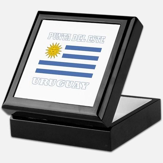 Punta del Este, Uruguay Keepsake Box