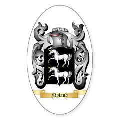 Nyland Sticker (Oval)