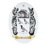 Nuzzi Oval Ornament