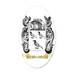 Nuzzetti Oval Car Magnet