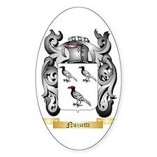 Nuzzetti Sticker (Oval)