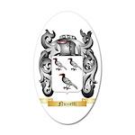 Nuzzetti 35x21 Oval Wall Decal